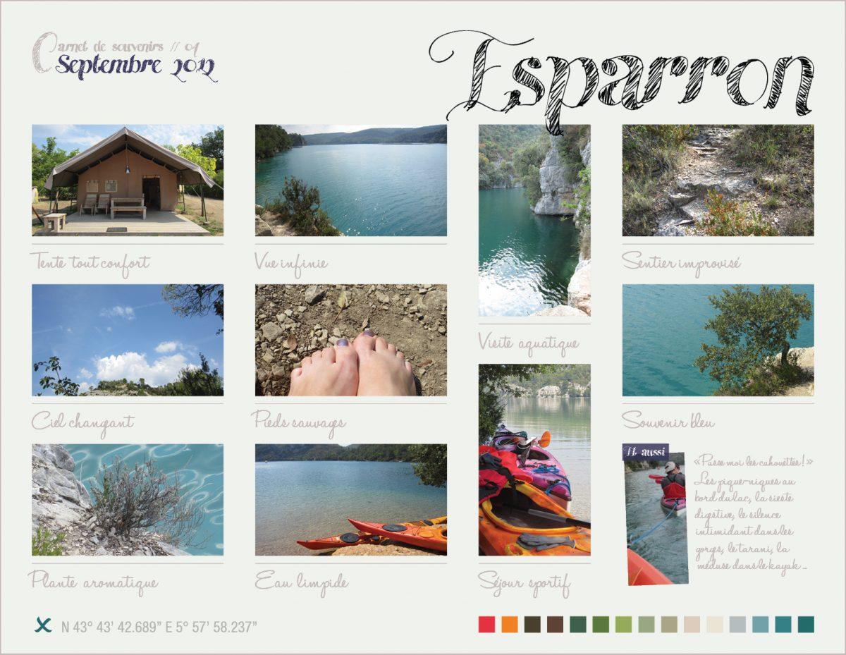 Carnet de souvenirs // 04 – Esparron