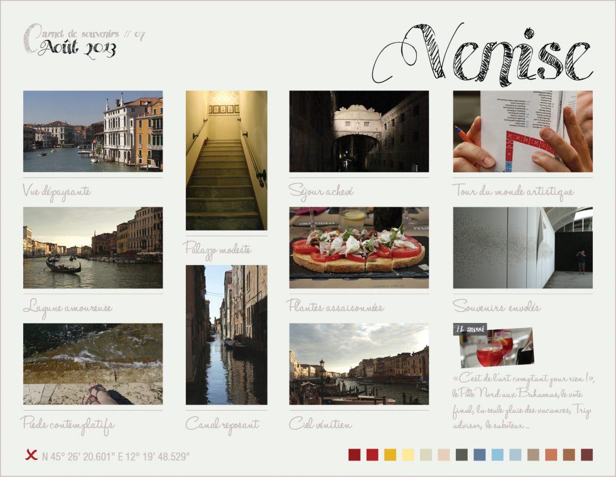 Carnet de souvenirs // 07 – Venise