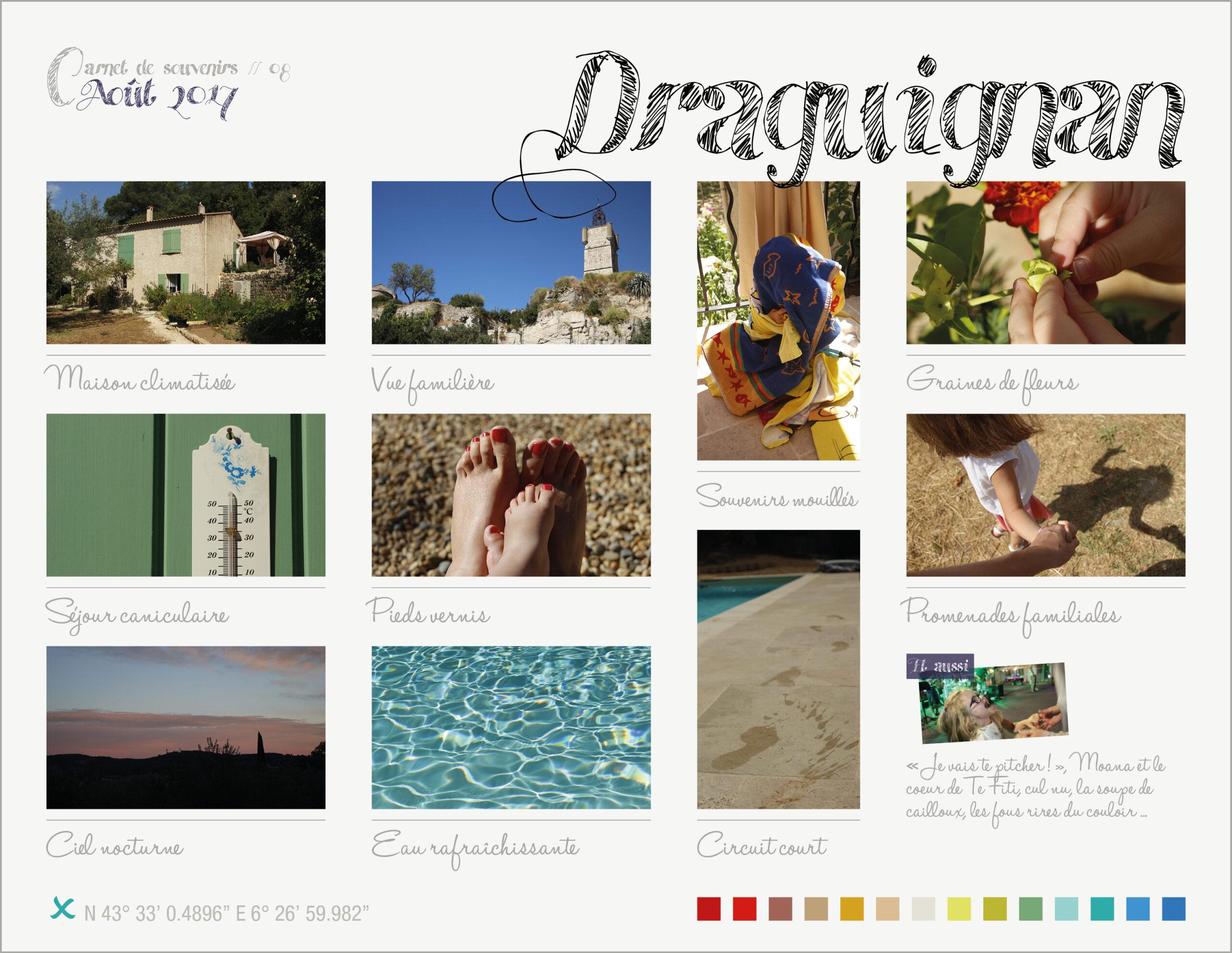 Carnet de souvenirs 08 // Draguignan